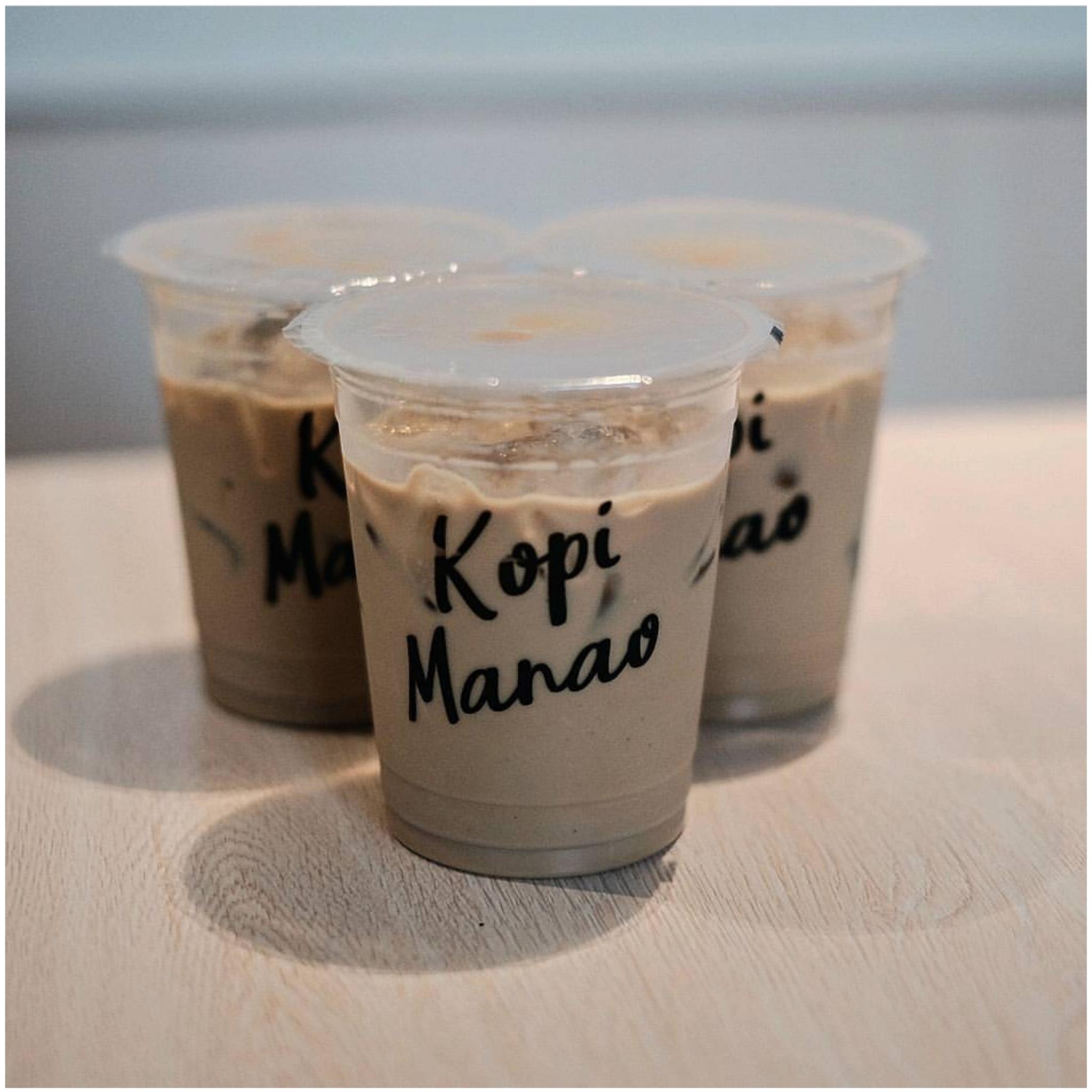 Cetak Gelas Plastik Papercup Kresek Dan Tenteng Cup Kantong Thai Tea Kopi Manao